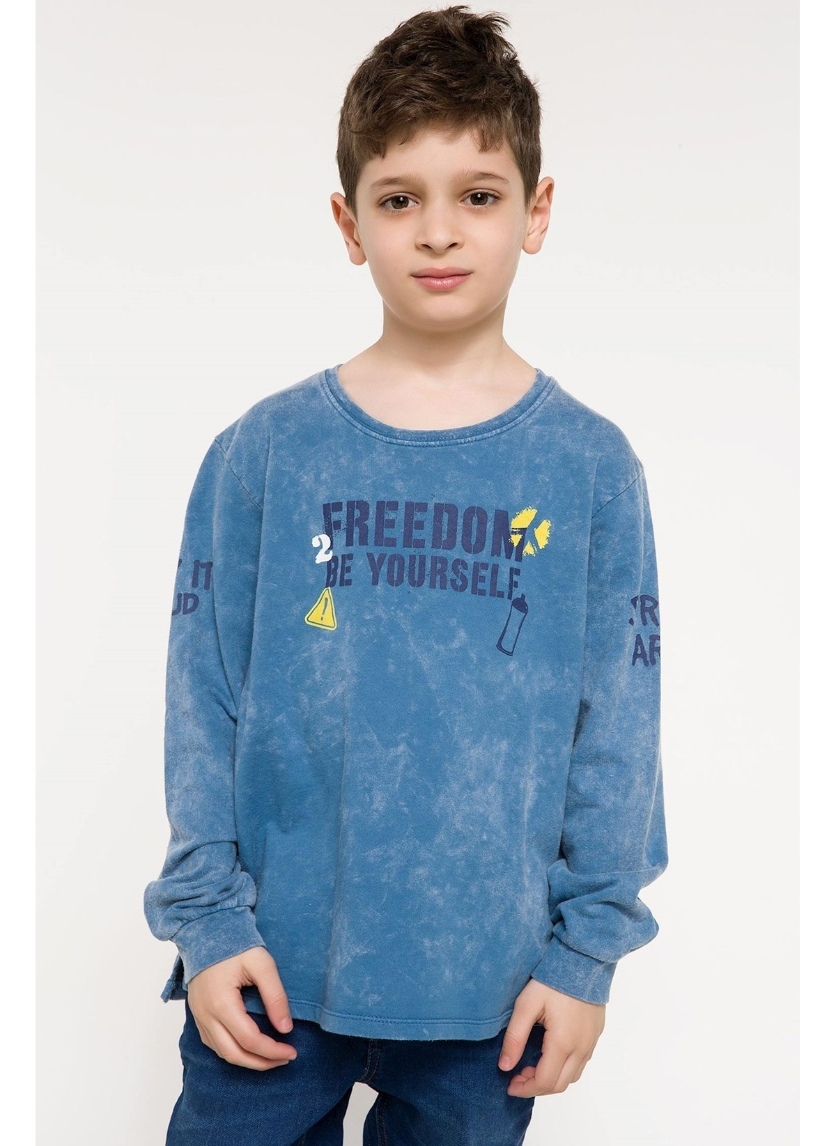 Defacto Yazı Baskılı Sweatshirt I3610a618spbe493 Yazı Baskılı Sweatshirt – 29.99 TL